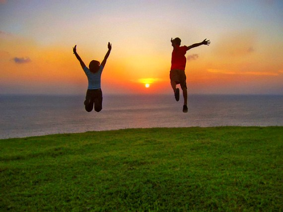 Jump for Joy by BingBing {flickr}