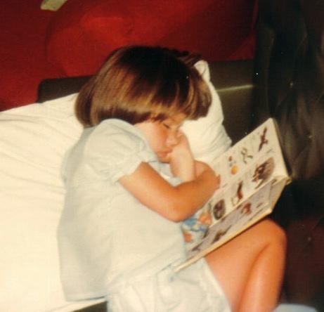 Fell asleep reading...again...
