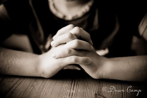 praying hands dawn camp