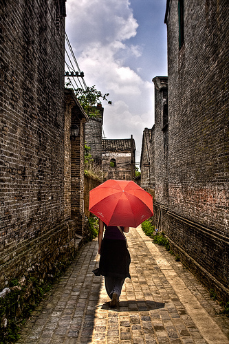 umbrella photo by lanchongzi