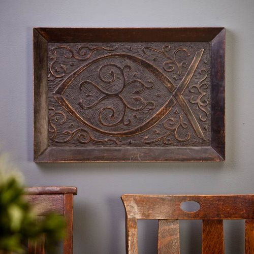 An (in)spired Giveaway: Wood Carved Wall Hanging