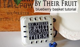 By Their Fruit blueberry basket tutorial from StudioJRU