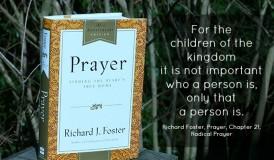 PrayerBook_Radical_Prayer_Richard_Foster