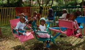 Mercy House Kenya toddler play area