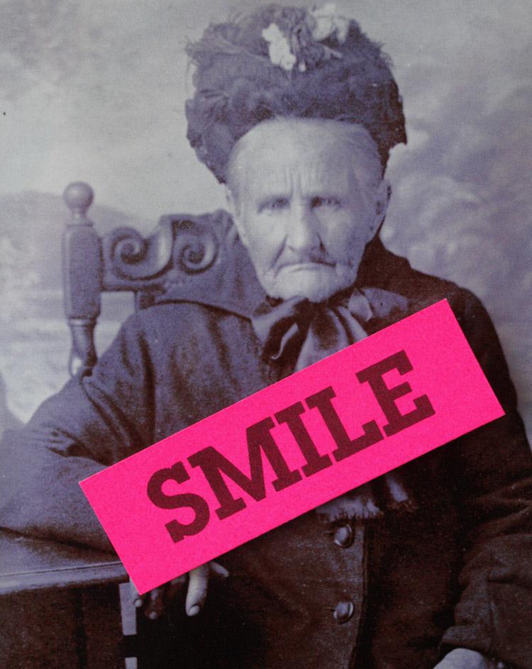granny smile