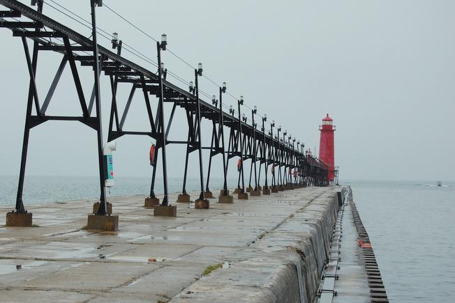 Gloomy Pier