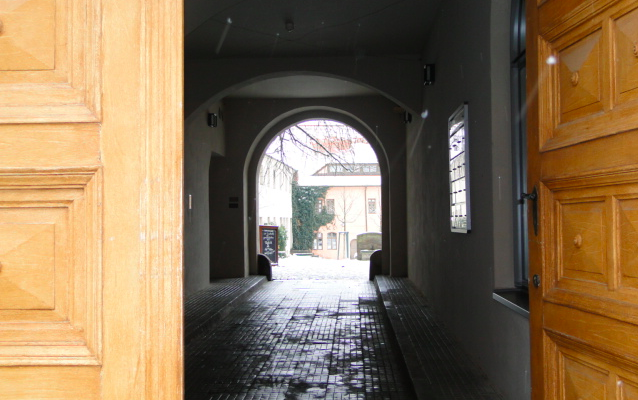 Open doorway