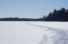 Snowshoe Trail in the Boundary Waters