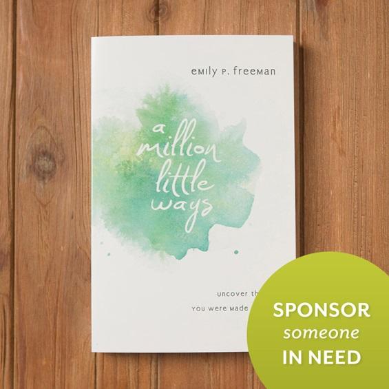 a million little ways book sponsor