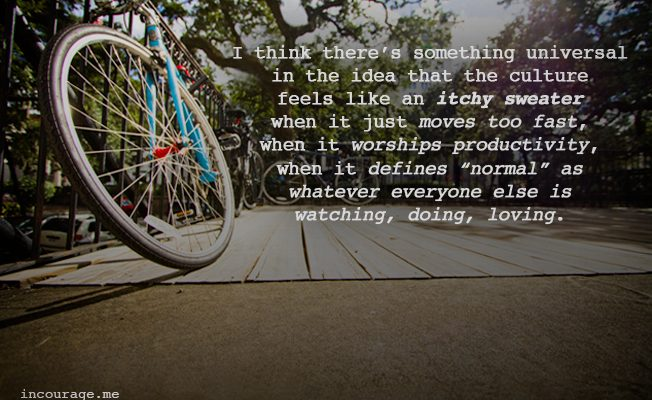 Why You Might Need a Blue Bike - incourage.me