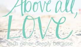 above all love- incourage.me