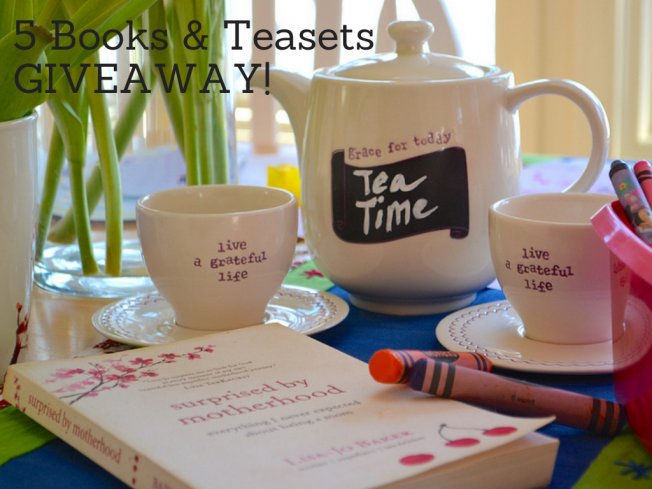 Five Book and Tea SetGIVEAWAY