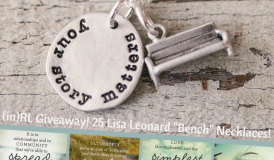 An #inRL Giveaway! Lisa Leonard Bench Necklace - Register today! incourage.me