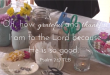 daily grace, scripture, crafts