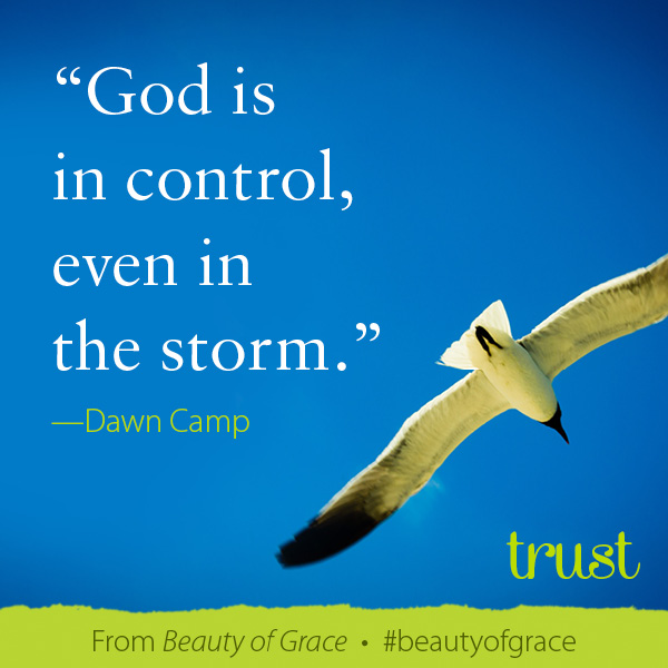 God is in Control in the Storm