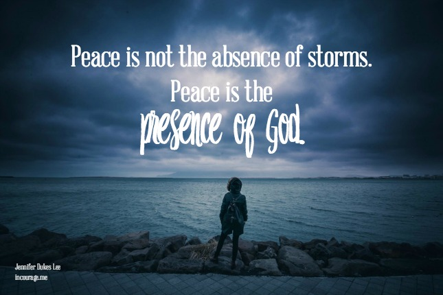 What You Need to Know When the Storms Come @ Incourage Friend, behold your Father, in the storm. He is racing you toward shore, and sitting with you, in the rain. He is your peace, when the sky is falling.
