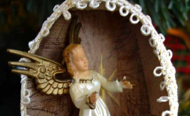 Vintage Angel Ornament