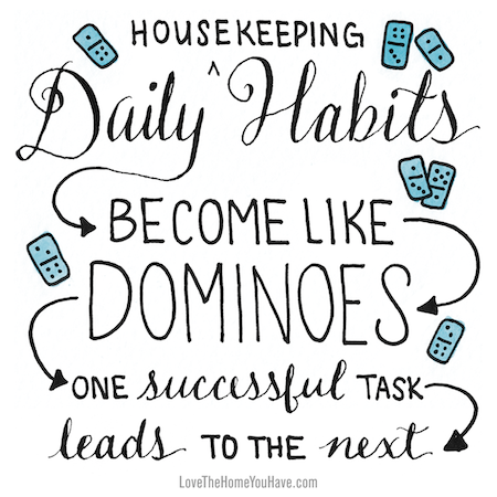 Daily Habits - The Inspired Room