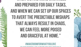 Make Room for What You Love book - Make room for grace