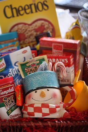 Stock up Now…give generously year round