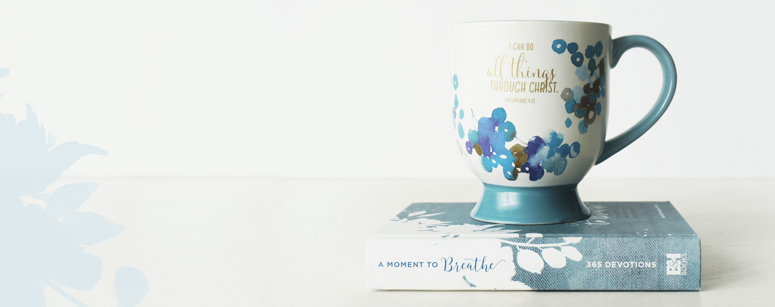 A Moment to Breathe Book and Mug